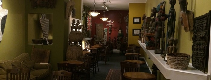 Jembetat African Gallery & Cafe is one of Places to check out in Rochester.