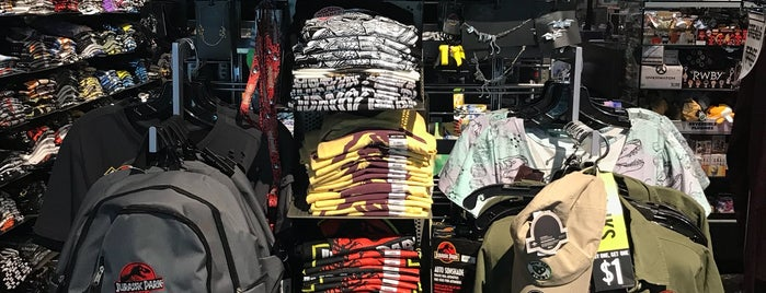 Hot Topic is one of Favorite.