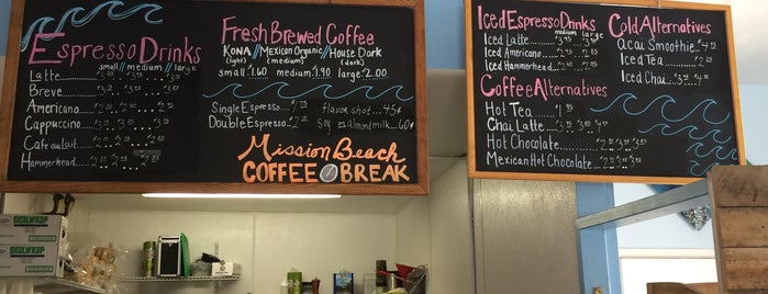 Mission Beach Coffee Break is one of Omarさんのお気に入りスポット.