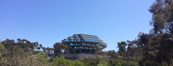 Giesel Library is one of San Diego.