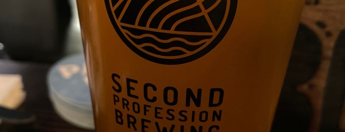 Second Profession Brewing is one of PDX Kid-friendly Beer.