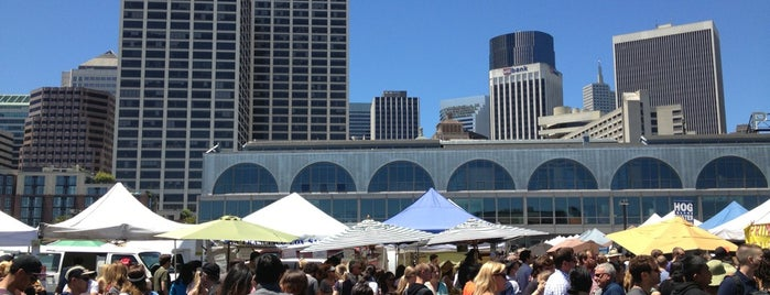 Ferry Plaza Farmers Market is one of San Francisco.
