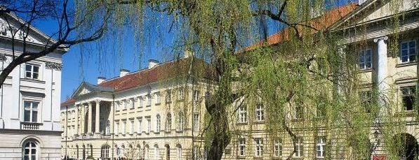 Pałac Kazimierzowski is one of Warsaw.
