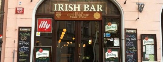 Caffrey's Irish Bar is one of Top 5 Prague's best clubs.