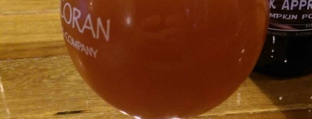 Corcoran Brewing Company is one of สถานที่ที่บันทึกไว้ของ Tanya.
