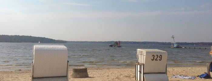 Strandbad Wannsee is one of Berlin with kids.