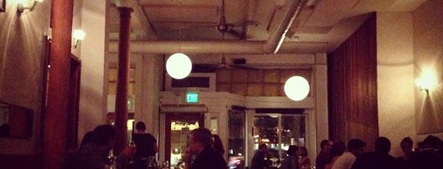 Bar Tartine is one of SF Eats.