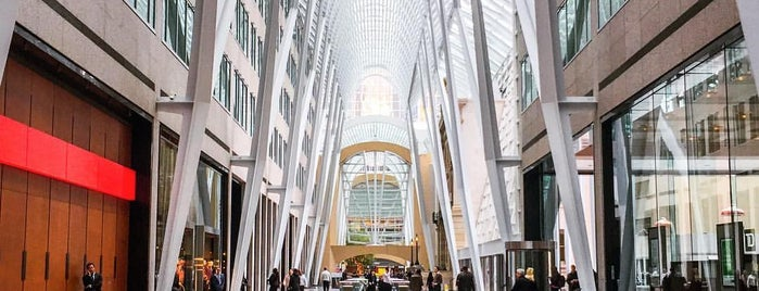 Brookfield Place is one of Toronto.