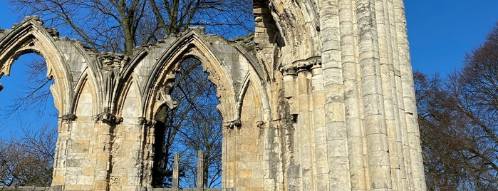 St Mary's Abbey is one of York.