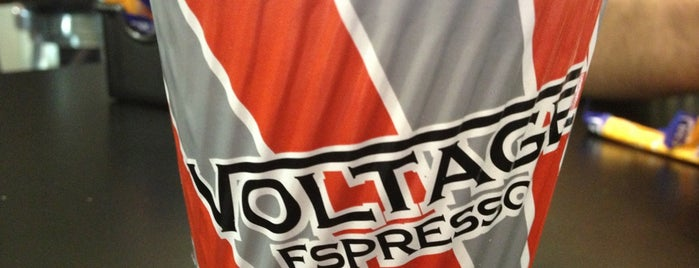 Voltage Espresso is one of Perth city coffee stops.