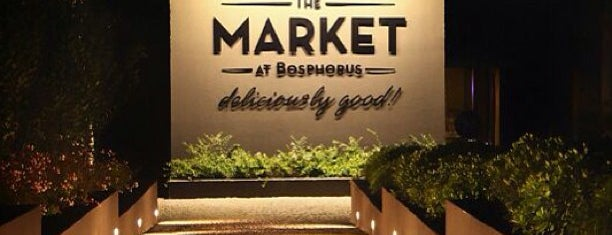 The Market Bosphorus is one of Istanbul Restaurants.
