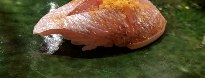 Sushi Miyazono is one of Timeout Tokyo's 100 best restaurants to try.