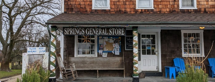 Springs General Store is one of East Hampton.