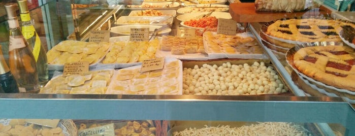 Salumeria dai Parmigiani is one of Fred and Joanne's Europe Trip Fall 2014.