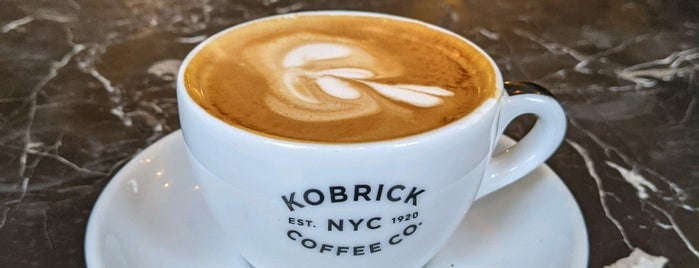 Kobrick Coffee Co. is one of NY.