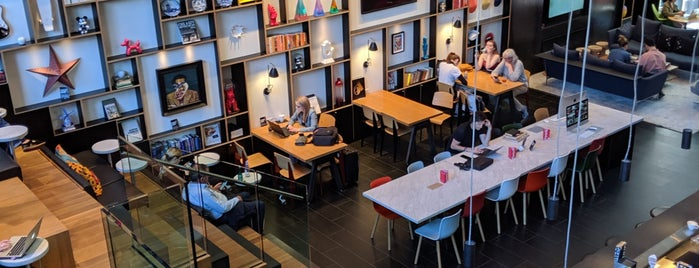 CitizenM Bowery is one of NYC Hotels.