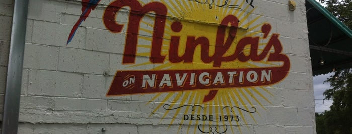 The Original Ninfa's on Navigation is one of Locais curtidos por Andrew.