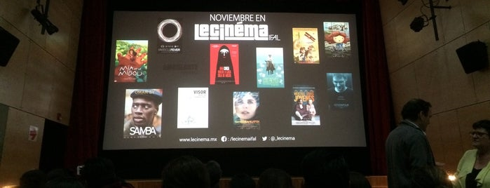 Le Cinéma IFAL is one of MX.