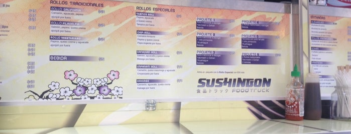 Sushingon Food Truck is one of Erikaさんの保存済みスポット.