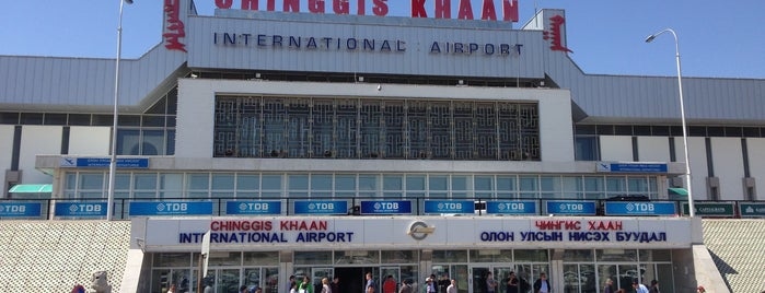 Chinggis Khaan International Airport (ULN) is one of World AirPort.
