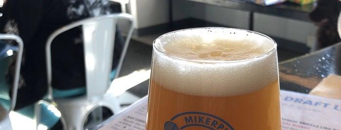 Mikerphone Brewery & Tap Room is one of Craft Breweries.
