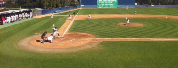LMU - George Page Baseball Stadium is one of Tempat yang Disukai Toni.