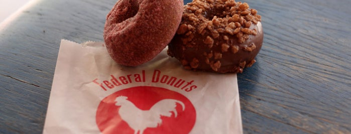 Federal Donuts is one of The Bitches' Guide to Philadelphia.