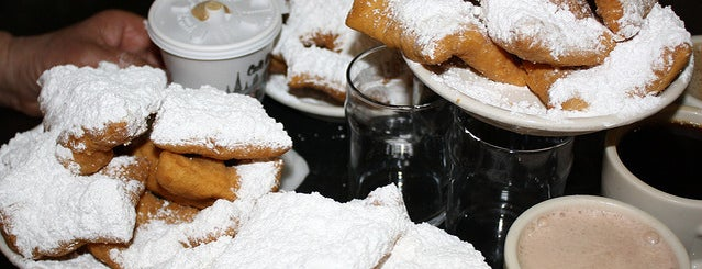 Café du Monde is one of The Bitches' Brunch Guide to New Orleans.