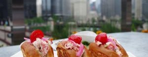 Raised Rooftop at Renaissance Hotel is one of Best Chicago Brunches, 2016.
