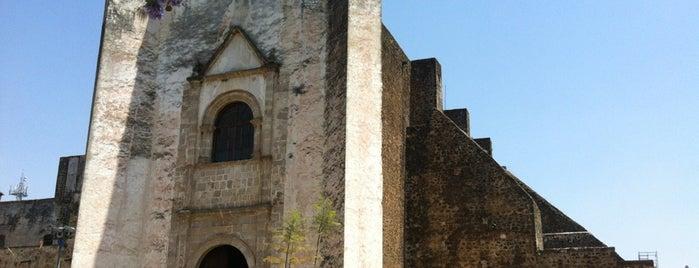 Convento De San Juan Bautista, Tlayacapan is one of Tlaycapan + Malinalco.