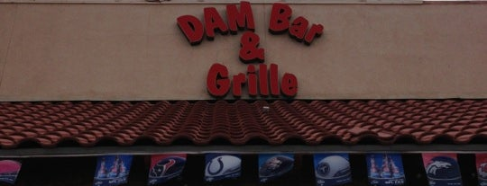 Dam Bar and Grille is one of azz azz azz.