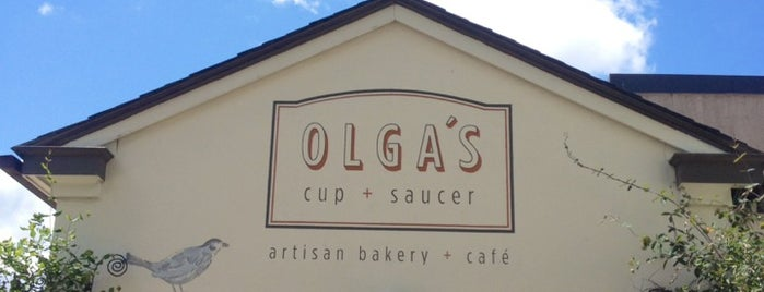 Olga's Cup + Saucer is one of Providence.