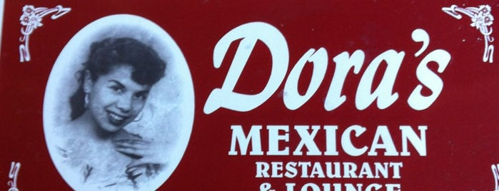 Dora's Mexican Restaurant is one of สถานที่ที่ Andrea ถูกใจ.