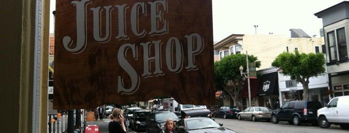 Juice Shop is one of Gluten Free in SF.