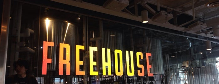 The Freehouse is one of Breweries or Bust.