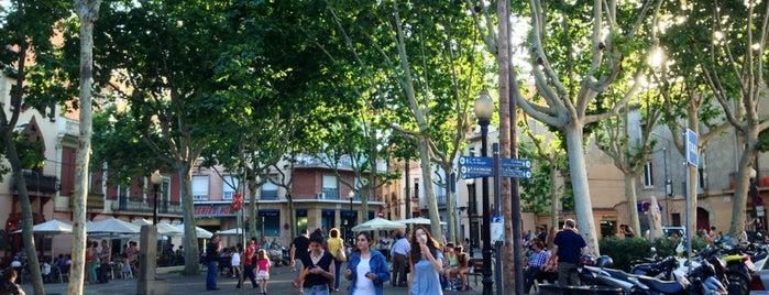 Plaça d'Eivissa is one of Bars in Barcelona.