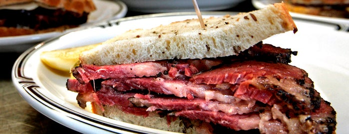 Langer's Delicatessen-Restaurant is one of Jonathan Gold's Best Cheap Eats.