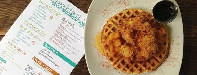 Nana G's Chicken & Waffles is one of Atlanta.