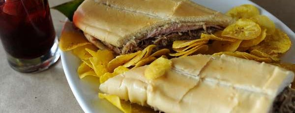 Lazaro's Cuban Cuisine is one of Atlanta food tour: Cuban sandwiches.