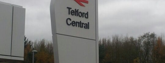 Telford Central Railway Station (TFC) is one of Railway stations visited.