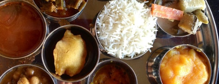 Udupi Palace is one of SF food.