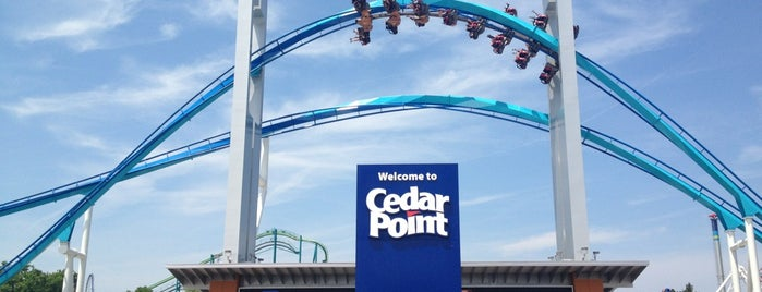 Cedar Point is one of Conquering Cedar Point.