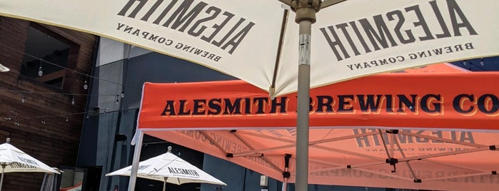AleSmith Anvil & Stave is one of San Diego.