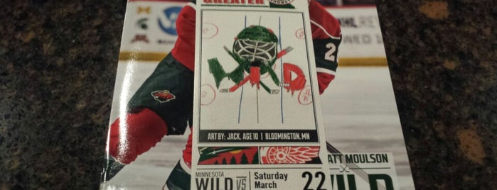 Xcel Energy Center is one of NHL~2014 Venues....