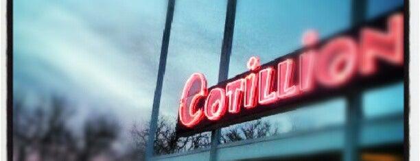 The Cotillion is one of Lugares favoritos de Nick.