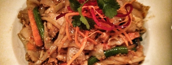 Q2 Thai is one of inexpensive lunches in midtown.