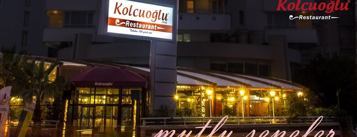 Kolcuoğlu Restaurant is one of Orte, die 🌜🌟hakan🌟🌛 gefallen.