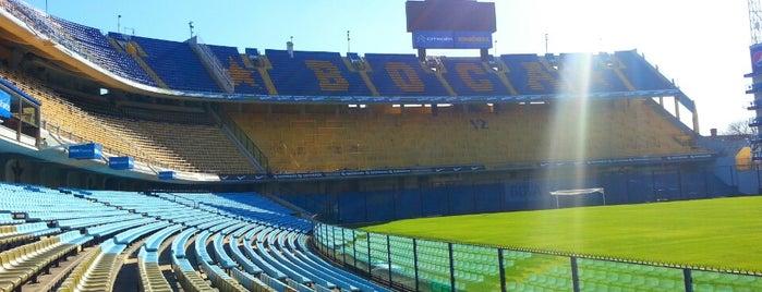 "Estadio Alberto J. Armando ""La Bombonera"" (Club Atlético Boca Juniors) is one of (EZE+)."