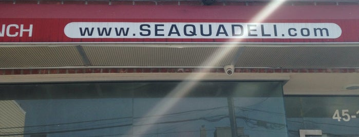 Seaqua Deli is one of Places: To Eat.
