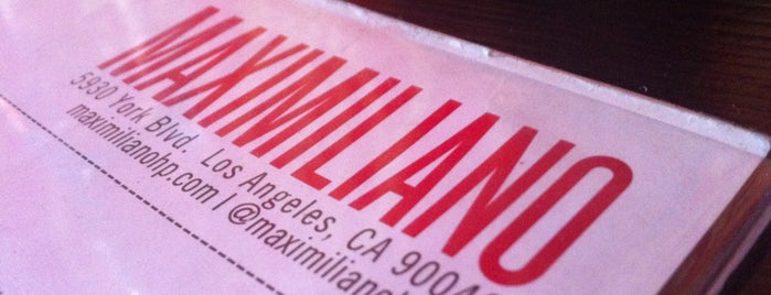 Maximiliano is one of Los Angeles.